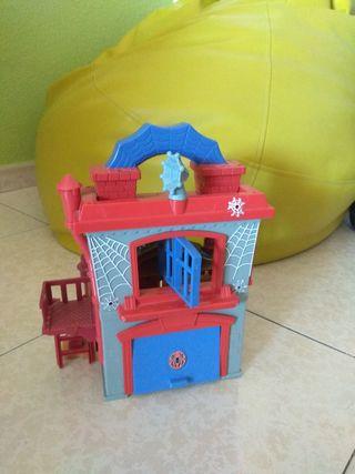 Casa de spiderman