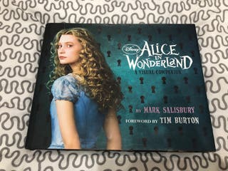 Libro arte Alice in wonderland de Tim Burton
