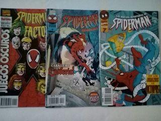 pack comics spiderman marvel