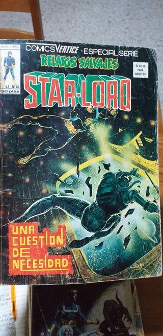 2 comics Star Lord