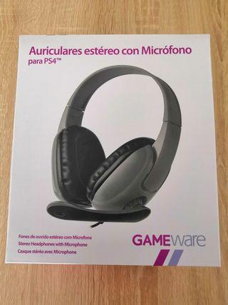 9a5dc3631e1 Auriculares con microfono para PS4 de segunda mano en WALLAPOP