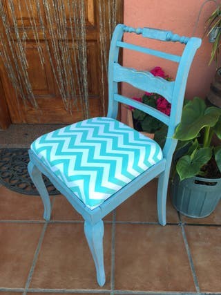 Antigua silla descalzadora