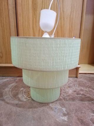 Lámpara de techo color verde