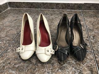 Zapatos de poco tacón