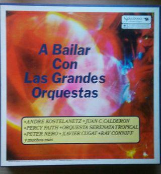 Disco vinilo A bailar con las Grandes Orquestas