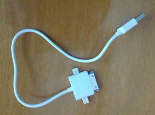 Cable cargador