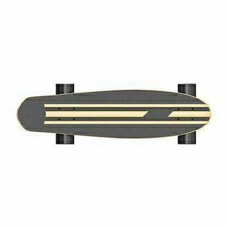 Skateboard eléctrico.