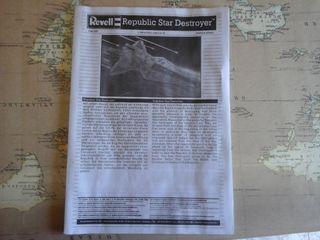 Maqueta Star Wars REPUBLIC STAR DESTROYER