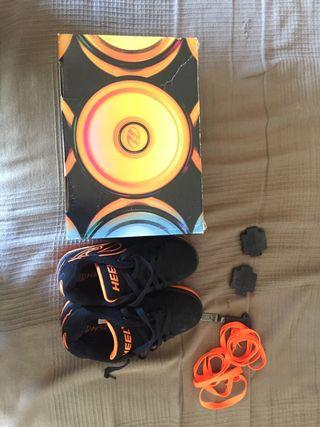 Zapatillas heelys talla 34 de ruedas