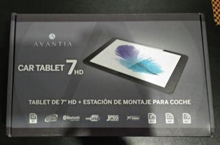 Tablet Android + Soporte para coche