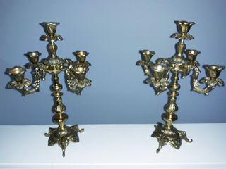 candelabros antiguos