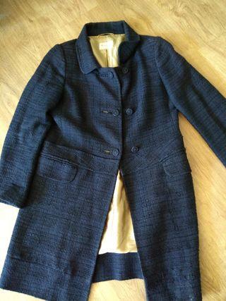 Abrigo azul. talla 40