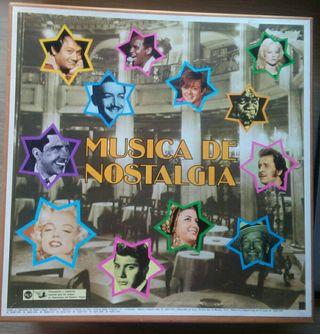 Disco vinilo Musica de nostalgia