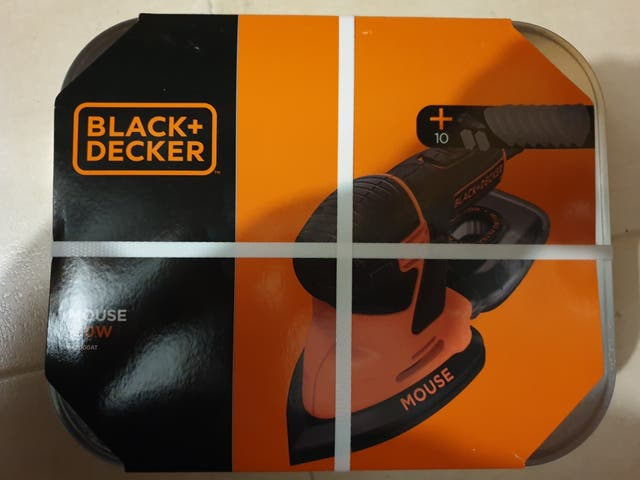 Lijadora nueva Black & Decker Mouse KA2000AT