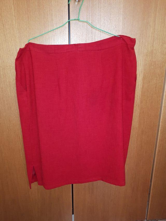 Conjunto de falda y blusón