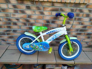 Bicicleta toy story niño/a. rueda 14 pulgadas