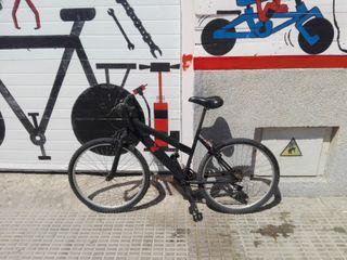 """bicicleta montaña 26"""" revisada y engrasada"""