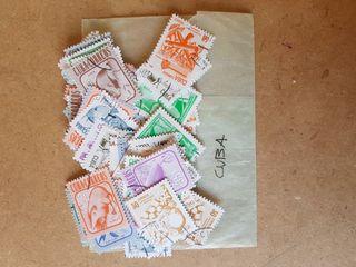 Lote sellos Cuba antiguos