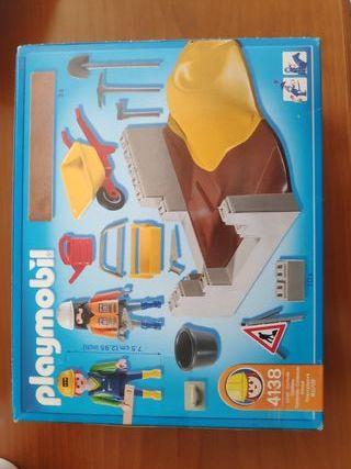 Playmobil Obreros Construcción