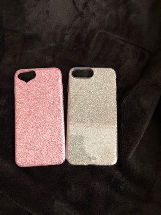 Vendo fundas para iPhone 7 y 8 plus