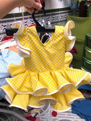 Vestido de gitana para niñas