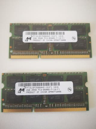 RAM DDR3 1066 4GB (2x 2GB) Macbook