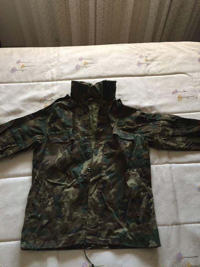 diferentemente compras más baratas Chaqueta militar ejército español tela talla L de segunda ...