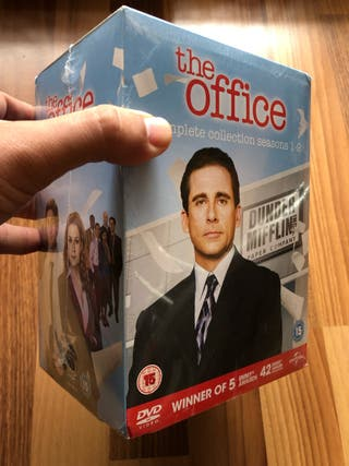 Serie THE OFFICE completa, nueva en ingles