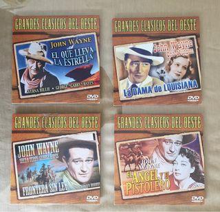 Grandes clásicos del oeste. John Wayne