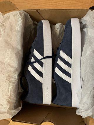 Adidas vl court 2.0 k azul