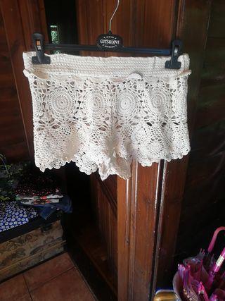 shorts croché algodon fetiche suances