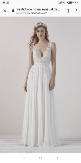 Vestidos novia boho chic coruna