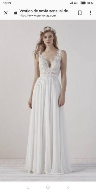 6c3dad82d Vestido de novia Pronovias de segunda mano en la provincia de A ...