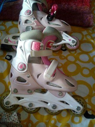patines linea niña 28/31