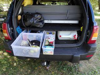 Jeep Grand Cherokee 4.0l + camper