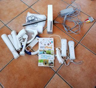 Consola Wii Nintendo + accesorios