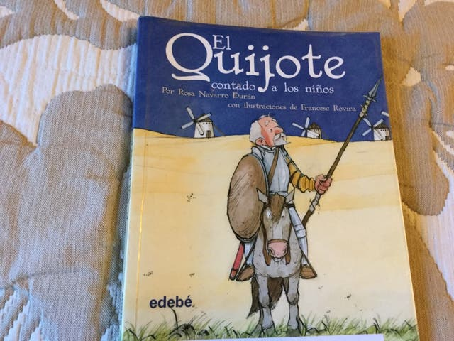 EL QUIJOTE CONTADO A LOS. NIÑOS DE ROSA NAVARRO