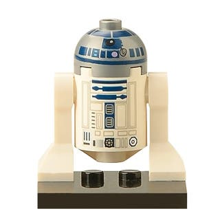 Figura de R2D2 tipo Lego - star wars