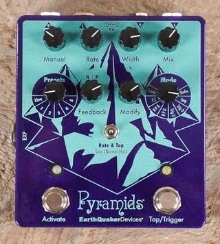 EarthQuaker Devices Pyramids Stereo Flanging