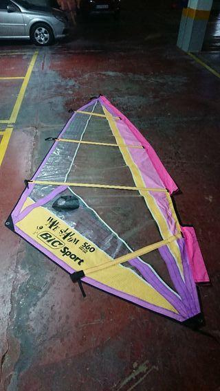 Vela windsurf 560