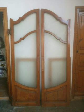 Puertas batientes antiguas