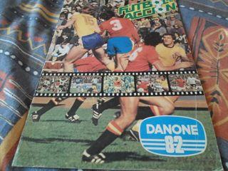 ALBUM CROMOS MUNDIAL 82 DANONE