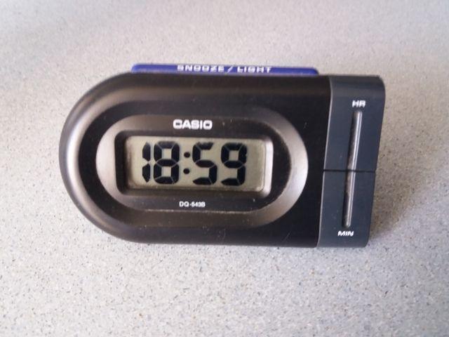 reloj despertador Casio