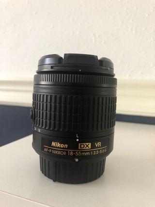Objetivo 18-55mm Nikon