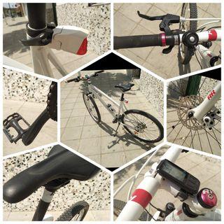 Bicicleta de montaña - ciudad