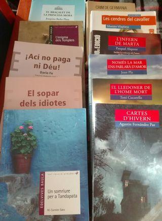 lote 3 libros en valenciano x 15€