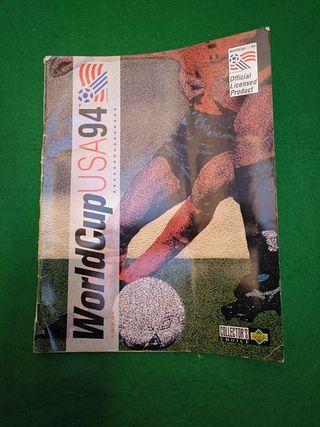 Álbum de cromos WorldCup USA 94