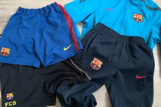 Chándal barsa Nike 8 años + 2 pantalones