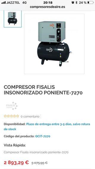 Compresor insonorizado FRISALIS