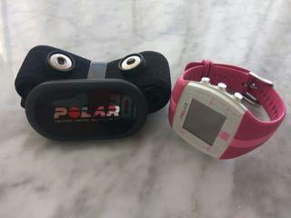 POLAR FT4 con pulsómetro en su embalaje original